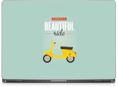 Seamen Beautiful Ride Vinyl Laptop Decal 15.6