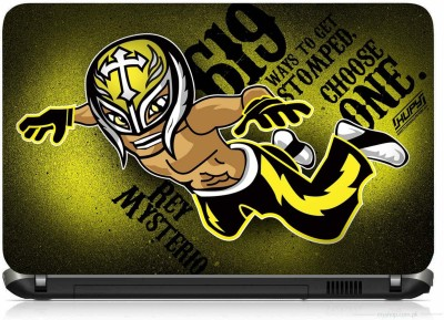 VI COLLECTIONS REY MISTERIO PRINTED VINYL Laptop Decal 15.6