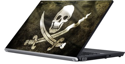 Eclipse Dangerous Skull Vinyl Laptop Decal