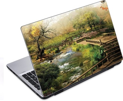 ezyPRNT The Beautiful Park Nature (14 to 14.9 inch) Vinyl Laptop Decal 14