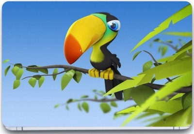Trendsmate Parrot anime 3M Vinyl and Lamination Laptop Decal 15.6
