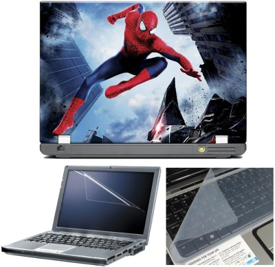 anycreation Spiderman Jumping HD Vinyl Laptop Decal 15