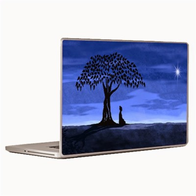 Theskinmantra Zen Moment Laptop Decal 14.1