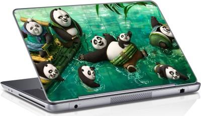 Innovate Panda Swimming_1160 Vinyl Laptop Decal 15.6
