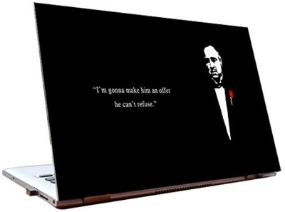 Dealmart The Godfather - Vito Corelone - Movie Skins - HD Quality Vinyl Laptop Decal 15.6