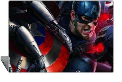 Digitek World Skin of Avengers High Quality 3M Vinyl Laptop Decal