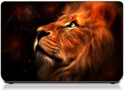 Friendly Formals Lion Art Vinyl Laptop Decal 15.6