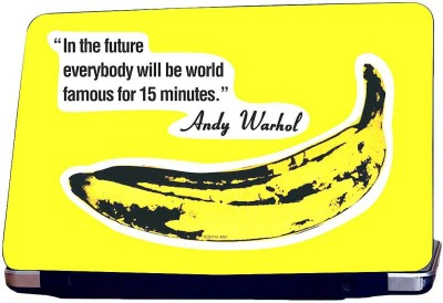 KKC Andy Warhol Quote Vinyl Laptop Decal 15.22