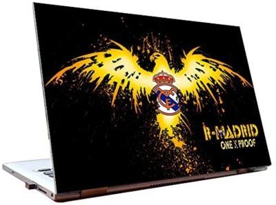 Dealmart Real Madrid FC - Logo - HD Quality Vinyl Laptop Decal 15.6