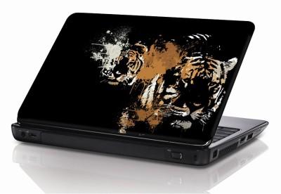 BSEnterprise Tiger Face Vinyl Laptop Decal 15.6