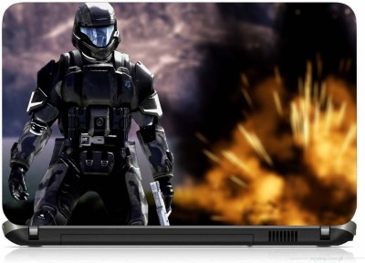 VI COLLECTIONS FUTURE SOLDIER PRINTED VINYL Laptop Decal 15.5