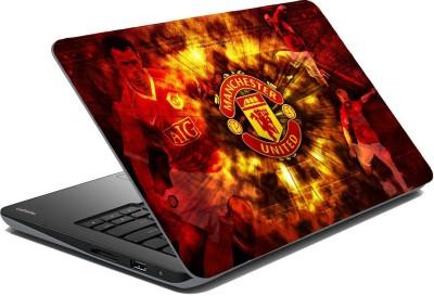 Posterhunt SVshi1276 FC Manchester United Laptop Skin Vinyl Laptop Decal 14.1