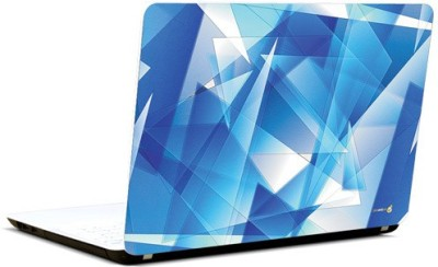 Pics And You Blue Spikes Vinyl Laptop Decal