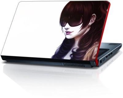 Shopmillions Women Glass Vinyl Laptop Decal 15.6