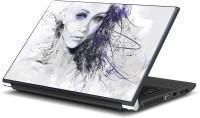 Artifa Girl Face artistic Vinyl Laptop Decal 15.6
