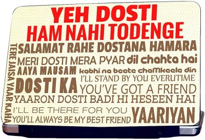 KKC Yeh Dosti Vinyl Laptop Decal