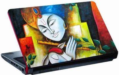virtual prints krishna image digitally printed Laptop Decal 15