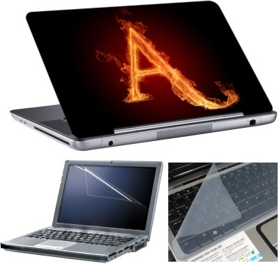 Anycreation Alphabetic A HD Vinyl Laptop Decal 15
