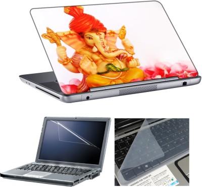 anycreation Ganesha On Rosh HD Vinyl Laptop Decal 15