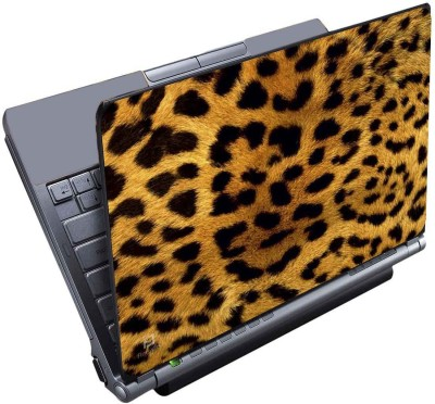 Finest Leopard Skin Vinyl Laptop Decal 15.6