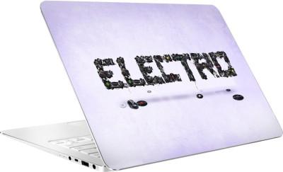 AV Styles Electro Vinyl Laptop Decal