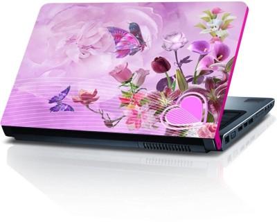 Shopmillions Multiple Butterfly & Flower Vinyl Laptop Decal 15.6