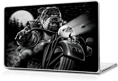Global Bulldog Ridding Vinyl Laptop Decal 15.6
