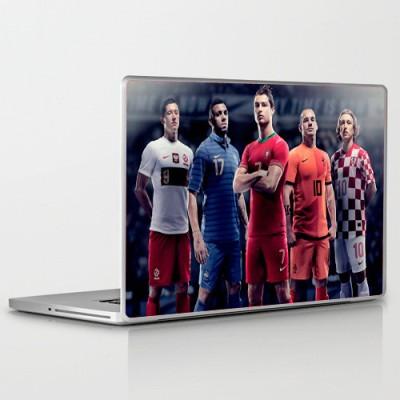 Theskinmantra Ronaldo Leads PolyCot Vinyl Laptop Decal