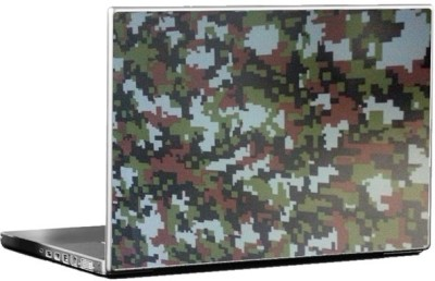 Tufkote Army Forest Camouflage Vinyl Laptop Decal