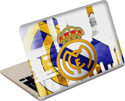 The Fappy Store Fc Real madrid logo Laptop Skin Vinyl Laptop Decal 13.6
