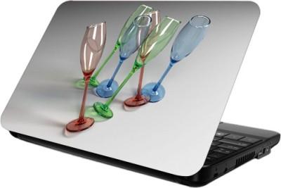Printland Wine Glass Skin Cover Vinyl Laptop Decal 13