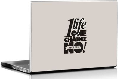 Seven Rays One Life One Chance Vinyl Laptop Decal