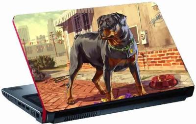 virtual prints animal (dog ) skin digitally printed Laptop Decal 15