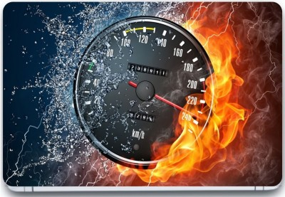 Trendsmate Speed Fire 3M Vinyl and Lamination Laptop Decal 15.6