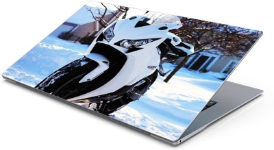 Lovely Collection sports bike Vinyl Laptop Decal 15.6