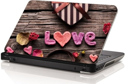 Swati Graphics SGLS054 Love Vinyl Laptop Decal 15.6