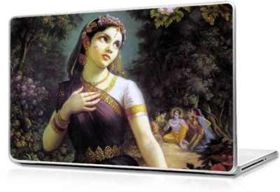 Automers Skin of Painting of Radha - Reusable High Quality 3M Vinyl Laptop Decal 15.6