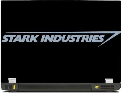 SkinShack Stark Industries Black (14.1 inch) Vinyl Laptop Decal 14.1