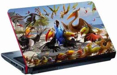 virtual prints nature (birds) digitally printed Laptop Decal 15