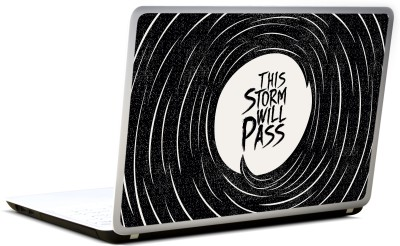 Lab No. 4 This Storm Will Pass Famous Proverbs Vinyl Laptop Decal 17