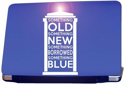 Incraze Something Old Something New Vinyl Laptop Decal 15.6