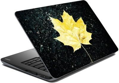meSleep Yellow Leaf 65-369 Vinyl Laptop Decal