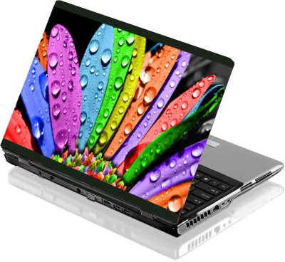 Seamen Colorful Flower Vinyl Laptop Decal