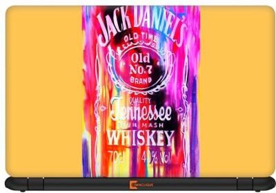 Ownclique Jack Daniels Psychedelic Vinyl Laptop Decal 14.1