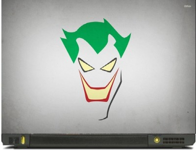 livestash joker vinyl Laptop Decal