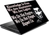hifex quote vendetta vinyl Laptop Decal ...