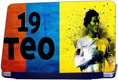 Incraze Teo 19 Footballer Vinyl Laptop Decal 15.6