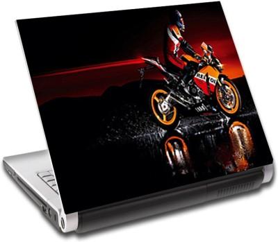 Shoprock Speed Bike Vinyl Laptop Decal
