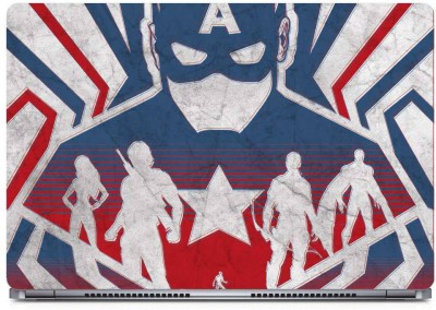 Marvel Captain America Vinyl Laptop Decal