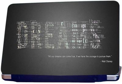 Incraze Walt Disney Quote Vinyl Laptop Decal 15.6